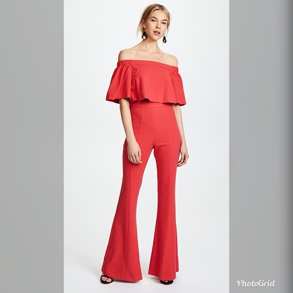 e5c9b5d17c5 Black Halo Dresses   Skirts - Black Halo Hadid Two Piece Jumpsuit in Chic  Red